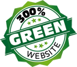 Green Hosting with print and Web Designer