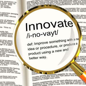 web design raleigh innovate definition magnifier showing creative development and ingenuity